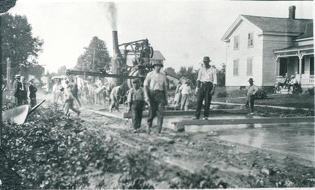 Building Route 11 1914