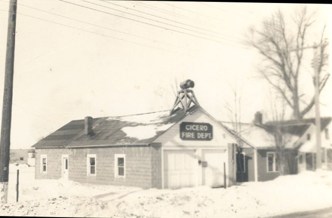 Cicero Fire Department in 1940