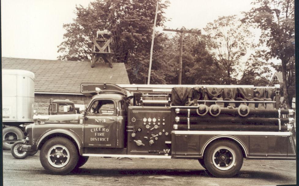 Cicero Fire Truck 1960s