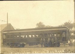 First Trolley to South Bay 1908