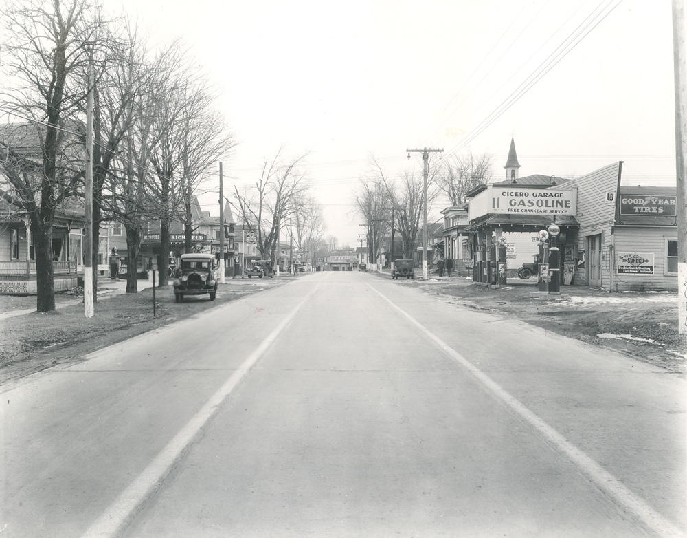 Four Corners (Rt31 & Rt11), Looking South 1930s