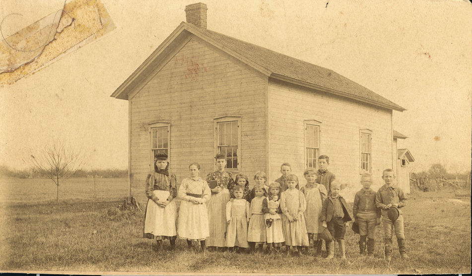 Moulton School 1891-1892 at Sneller & Rt 11
