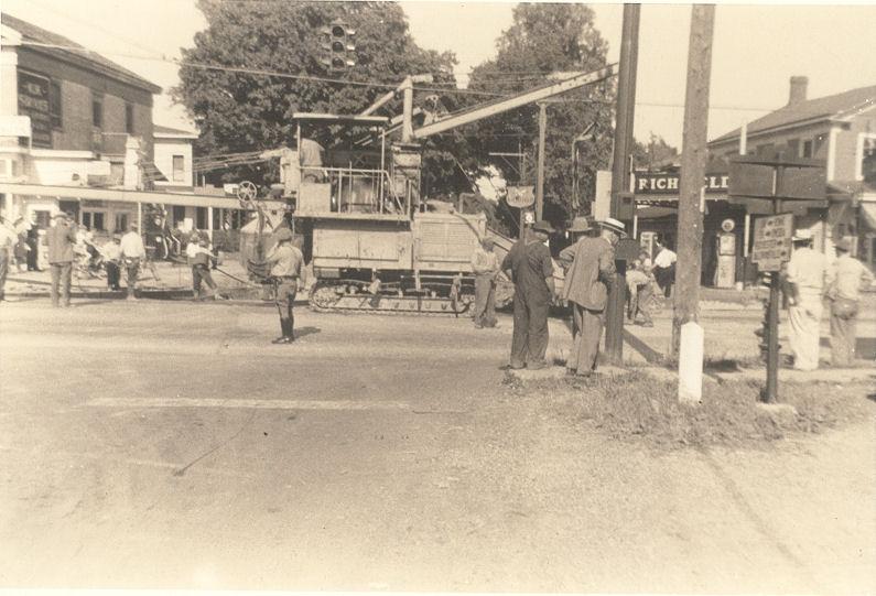 Paving Rt 31 1939