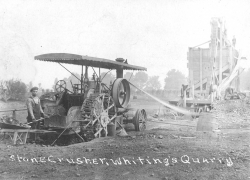 Whiting's Quarry in 1908