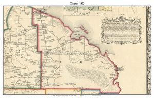 Map of Cicero 1872